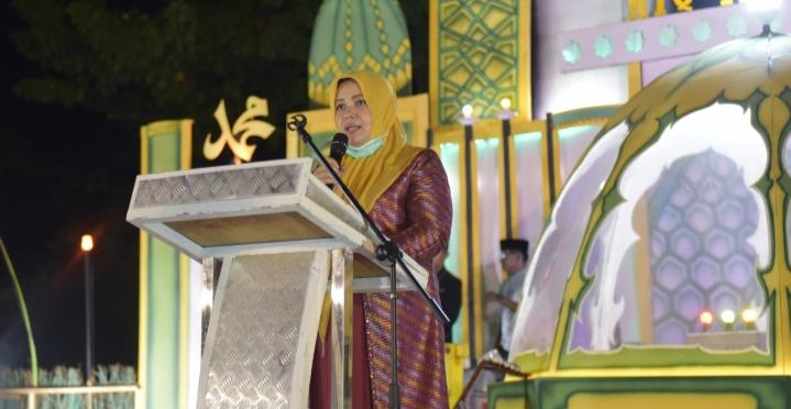 Bupati IDP Sumbang Masjid At-Taqwa Sape 20 Juta