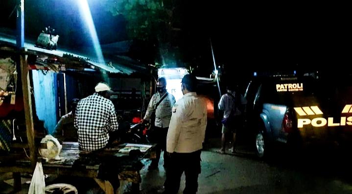 Polsek Belo Patroli Malam Minimalisir Kriminalitas