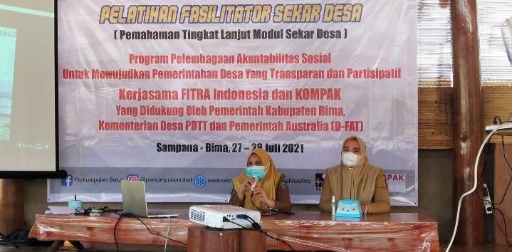 FITRA dan KOMPAK Fasilitasi Pelatihan Sekolah Anggaran Desa
