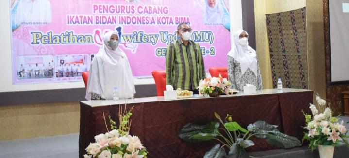 Dikes Kota Bima Gelar Pelatihan Midwifery Update Angkatan 2