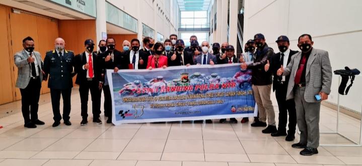 Delegasi Polda dan Pemprov NTB Study Banding Ke Italy untuk Tekhnik Pengamanan Event Internasional